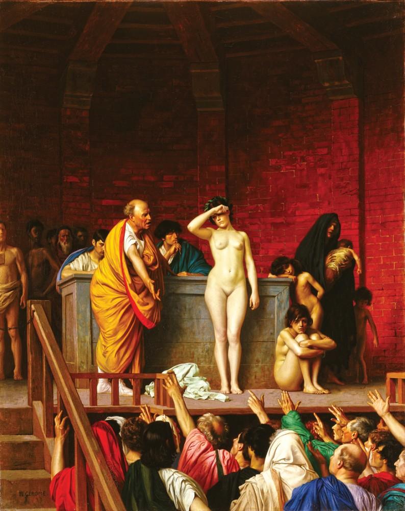 Roman sex life, strawberry blonde pron gif